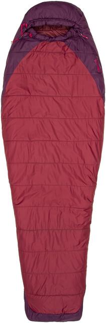 Marmot W's Trestles Elite 20 Sleeping Sleeping Sleeping Bag Long Madder Röd/Dark Purple 7a9deb